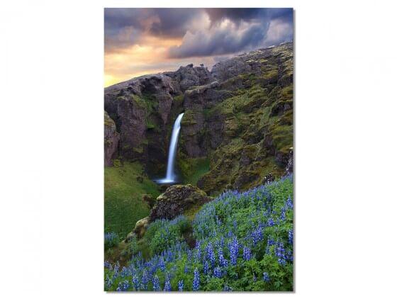 Tableau Paysage Voyage en Islande