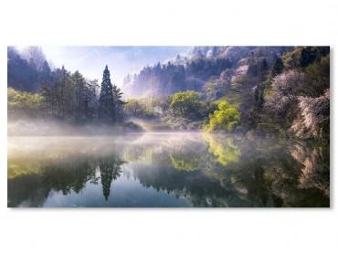 Tableau Paysage Un matin en montagne