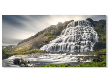 Tableau Paysage Islande Cascades