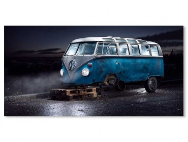 Tableau Deco VW California Bus