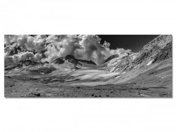 Tableau Paysage Glaciale moraine