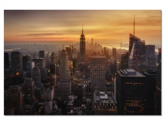 Tableau Paysage Manhattan's light