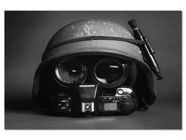 Tableau Deco Reporter de guerre