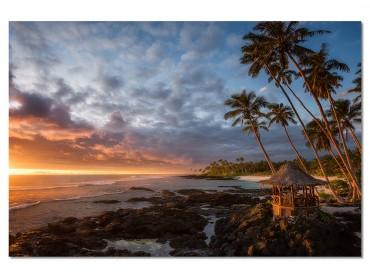 Tableau Paysage paradis beach
