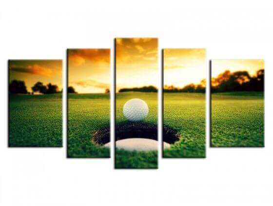 Tableau décoration murale design golf