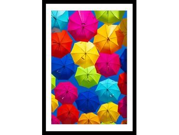 Affiche Deco Ciel de parapluies