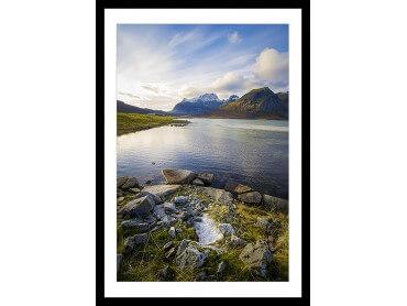 Affiche Paysage Lac glacière
