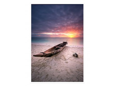 Affiche Paysage Zanzibar sunset
