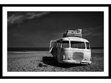 Affiche Deco Beached Bus