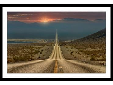Affiche Paysage Roadtrip