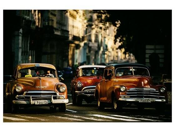 Affiche Deco Vintage Taxi