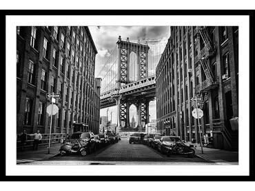 Affiche Deco dumbo brooklyn bridge