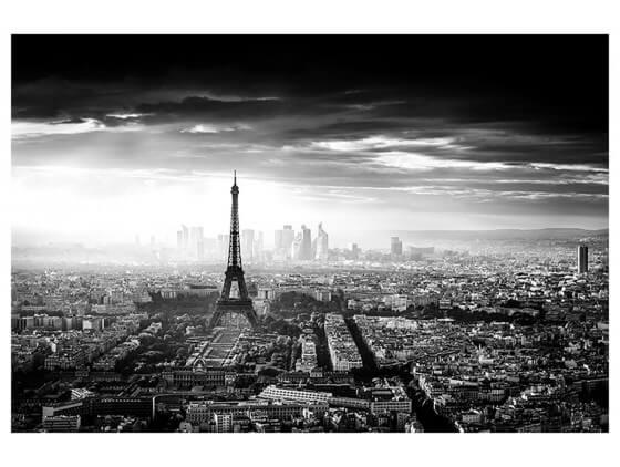 Affiche deco Lumière sur Paris