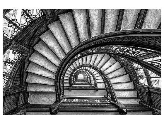 Affiche Deco Circular staircase