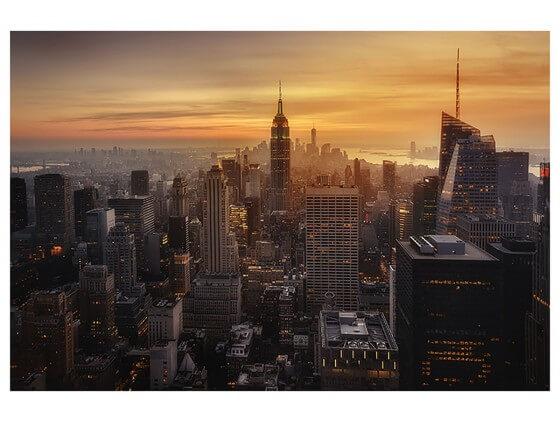 Affiche Paysage Manhattan's light