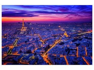 Affiche Paysage Paris City Lights