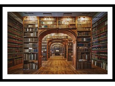 Affiche Photo Librairie des Sciences -