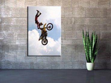 Tableau déco murale sport mécanique motocross