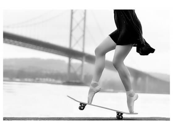 Affiche d'Art Skater Girl - vente d'