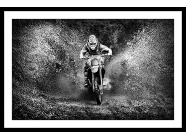Affiche Deco Moto Cross