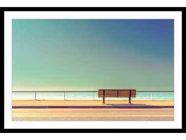Affiche Paysage Pause balnéaire