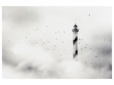 Affiche Deco Phare dans le brouillard