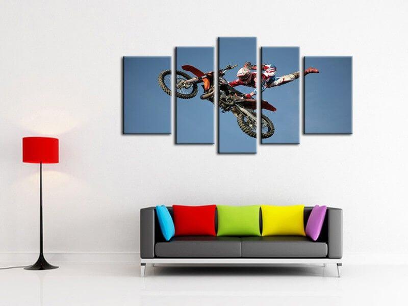 Vente en ligne de tableaux superman motocross pas chers sur hexoa - Tableau deco moderne ...
