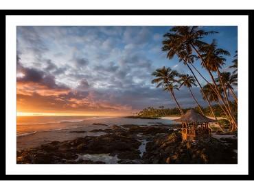 Affiche Paysage paradis beach