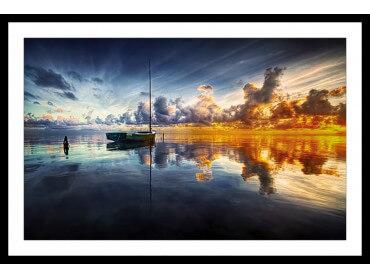 Affiche Deco beauté des lacs