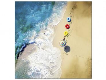 Tableau deco Une bouée à la mer