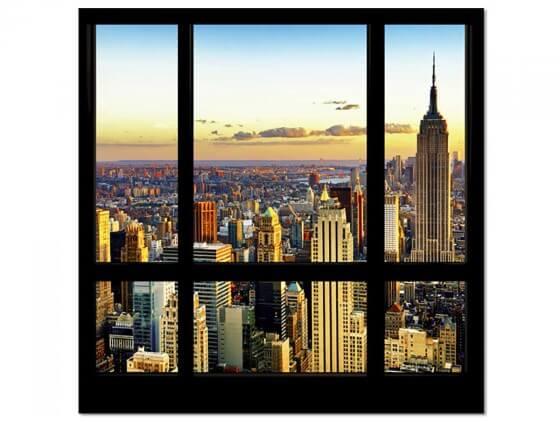 Tableau New York Gratte - Ciels
