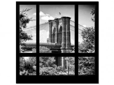 Tableau deco Regard sur Brooklyn Bridge