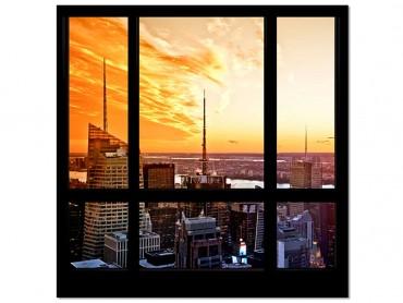 Tableau Photo Lumière sur New York