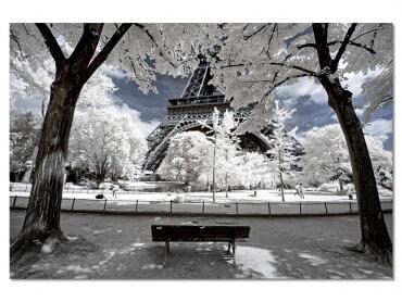 Tableau Paris Immaculée Tour Eiffel
