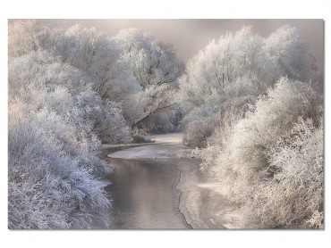 Tableau Paysage Winter song