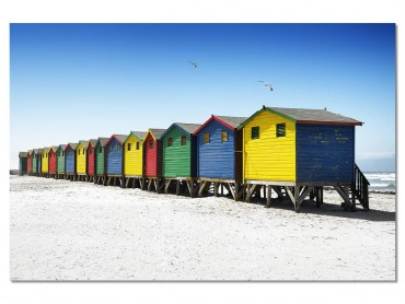 Tableau Deco Muizenberg beach