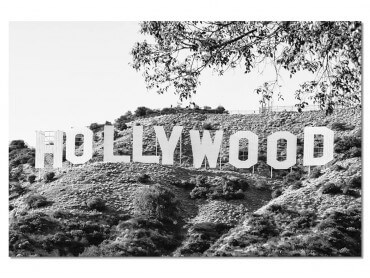Tableau Deco Hollywood Black California