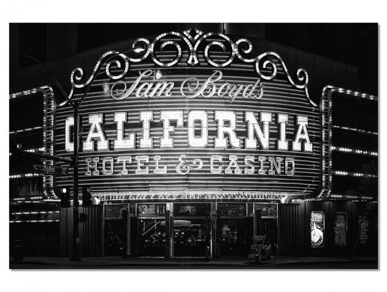 Tableau Deco Casino Black California