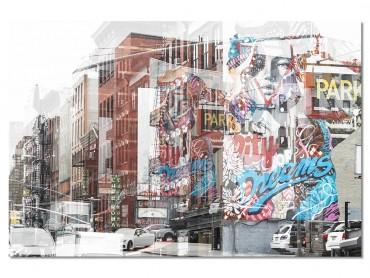 Tableau Deco NY Urban Abstraction