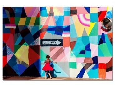 Tableau Deco Street Art MAYAHAYUK