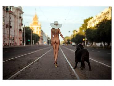 Tableau Deco Street nude