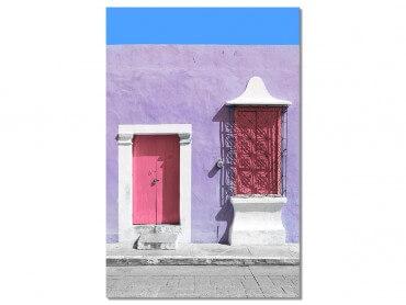 Tableau Photo Mexico Quartier de Guanajuato