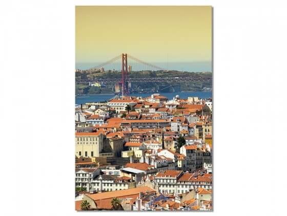 Tableau Photo Lisbonne .. un air de San Fransisco
