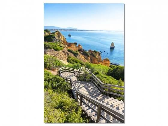 Tableau Photo Algarve Beach - WelcomeToPortugal