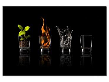 Tableau Cuisine Les 4 éléments
