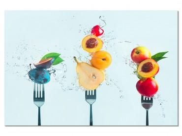 Tableau Cuisine Une salade de fruit !