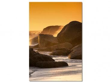Tableau Photo Coucher de soleil au bout du monde