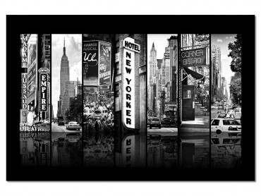 Tableau New Yorker Recto Verso