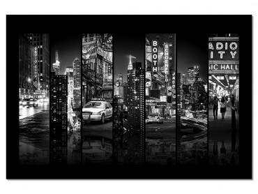Tableau Taxi de New York Recto Verso