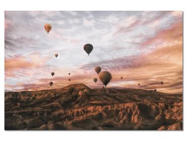 Tableau Paysage montgolfière en Cappadoce